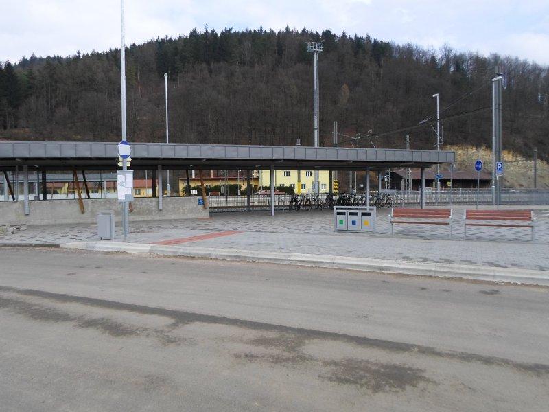 ŽST Ústí nad Orlicí-zastřešení nástupiště