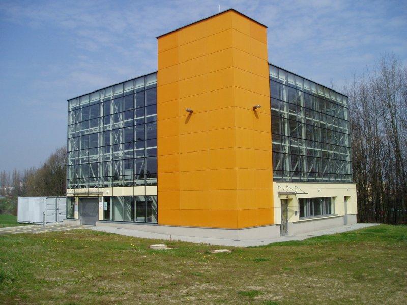 Budova těžkých laboratoří VŠB-TU Ostrava