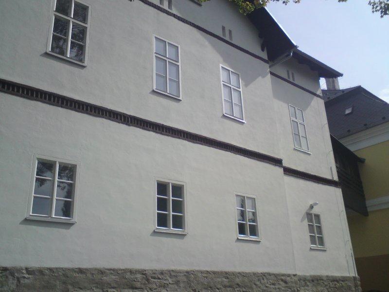 DNZ Kyjovice-Přístavba a úpravy domu č.p. 104 fasáda