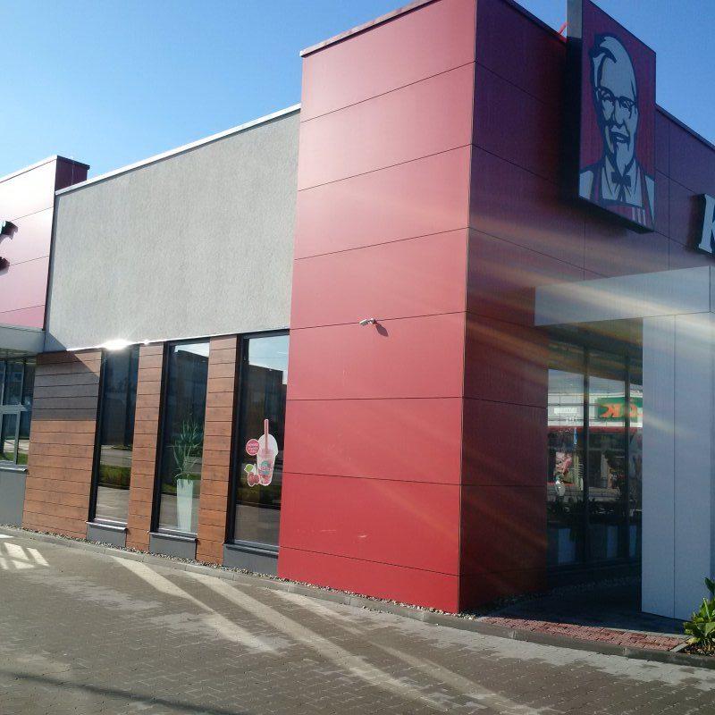 KFC po rekonstrukci