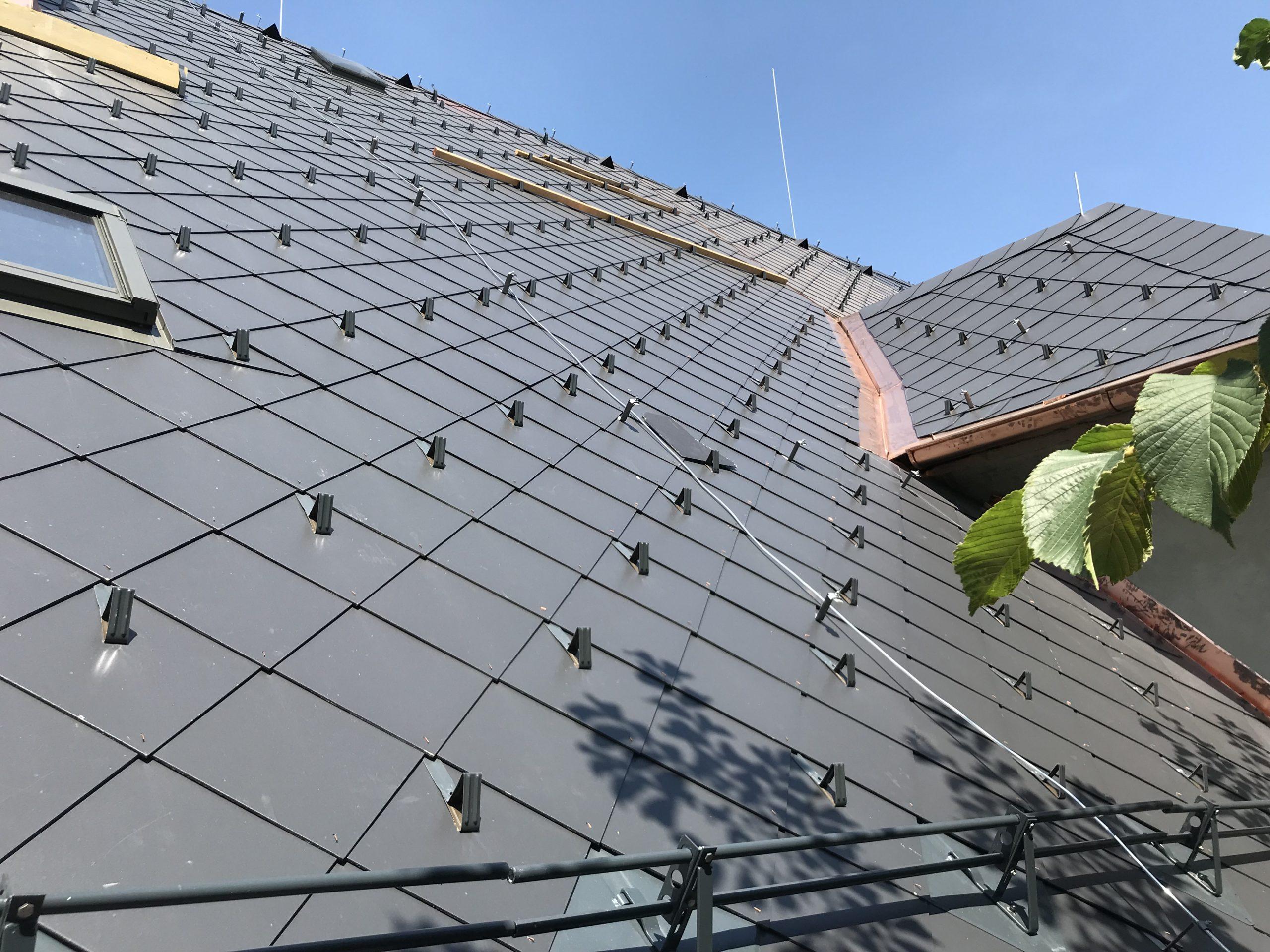 Rekonstrukce střechy detail 2