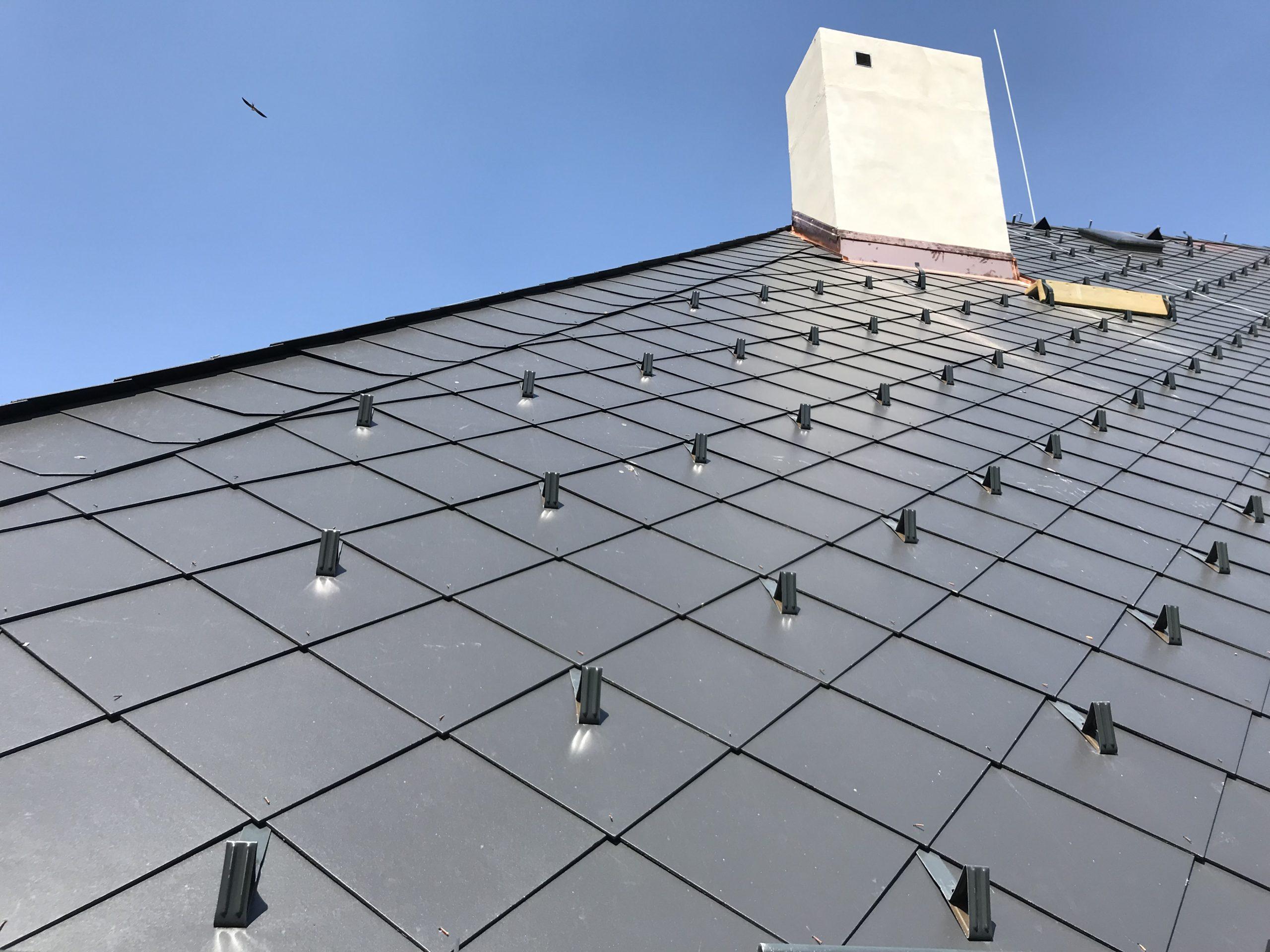 Rekonstrukce střechy detail