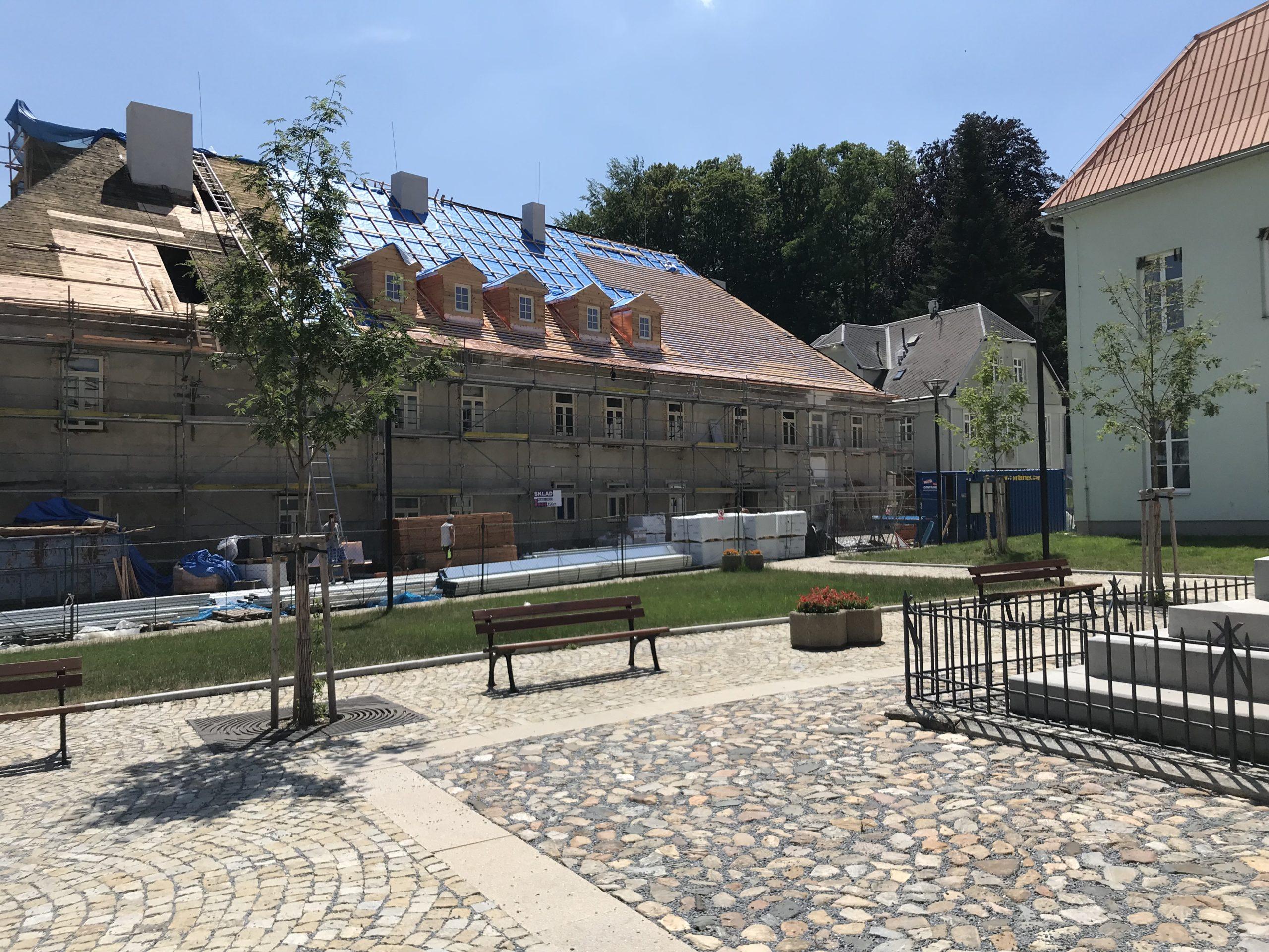 Rekonstrukce střechy 2