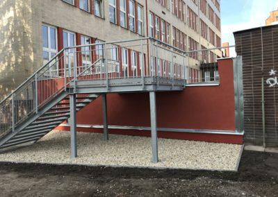 CETIN-rekonstrukce terasy